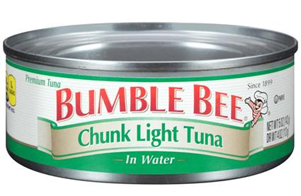 Bumble Bee atún recordó a nivel nacional; problemas de esterilización citados